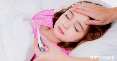 علاج الحرارة عند الاطفال بالبصل