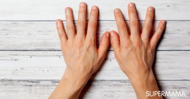 هل بروز عروق اليد من علامات الحمل؟