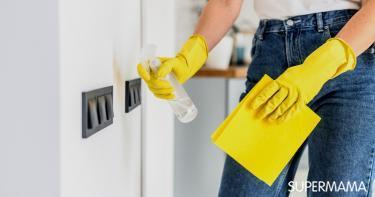 طريقة تنظيف مفاتيح الكهرباء بأمان