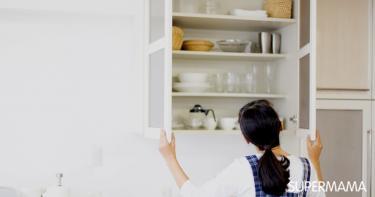 نصائح للتخلص من رائحة الرطوبة في خزائن المطبخ