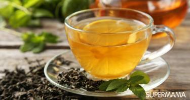 ما فوائد الشاي الأخضر مع الليمون