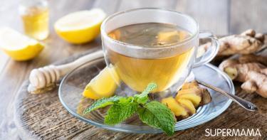 فوائد مهمة للشاي الأخضر مع الزنجبيل