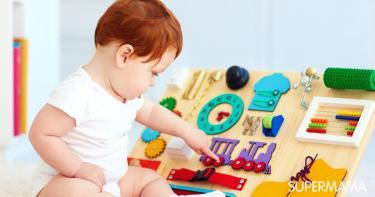 ألعاب منتسوري للأطفال عمر سنة