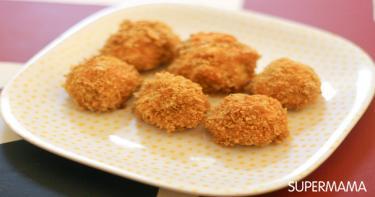الطبق السابع: لقيمات الدجاج المقرمشة