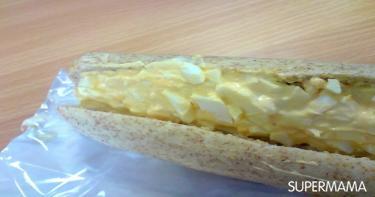 ساندوتش البيض بالمايونيز على طريقة سوبرماما