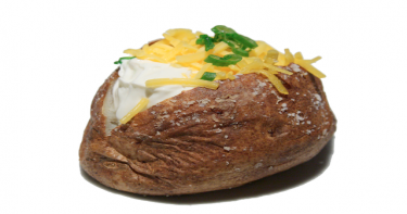 البطاطس المخبوزة بالفرن