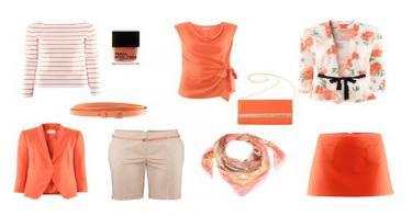 أناقة باللون البرتقالي