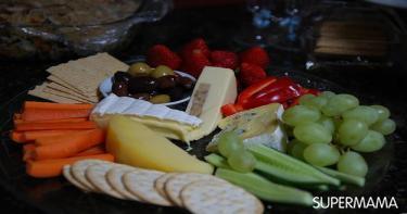 تحضير طبق الجبن