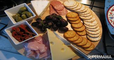 اأطباق الجبن
