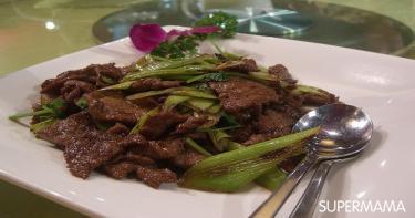 لحم بقري على طريقة ستير فراي التايلاندي