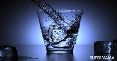 الماء من أجل جلد جميل