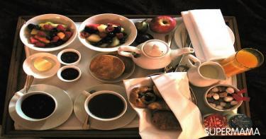 افطار في السرير