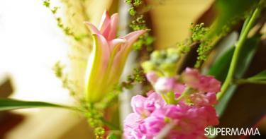 الزهور والكروت