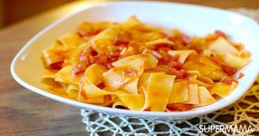 وصفة أسرع مكرونة مع صلصة طماطم