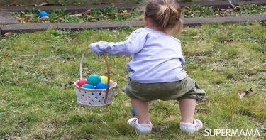 البيض والملعقة