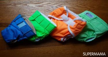 مستلزمات حقيبة الخروج للحدائق - حفاضات وملابس داخلية إضافية