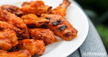 بافلو ونجز (أجنحة الدجاج المشوية)