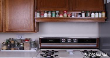 ٨.تنظيف وتنظيم المطبخ