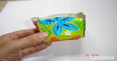 اصنعي بنفسك: عمل علبة صغيرة من الطبق الورق1