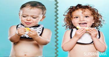 اطفال يتذوقون الليمون 7