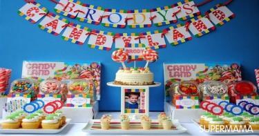 حفلة أرض الحلوى