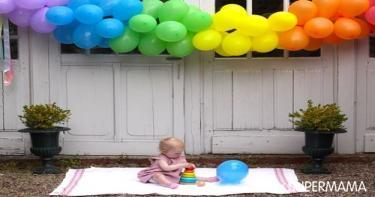 البالونات من كل لون