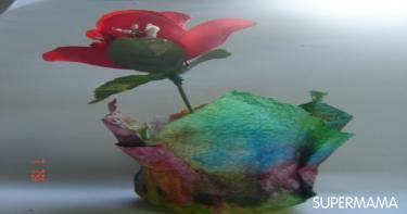 ديكور لمزهرية صغيرة