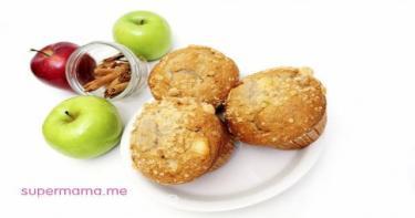 مافن التفاح و القرفة :