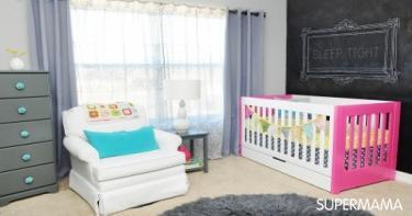أفكار جديدة لغرف نوم الأطفال6