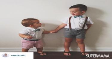 صور ملابس الأولاد في العيد ١