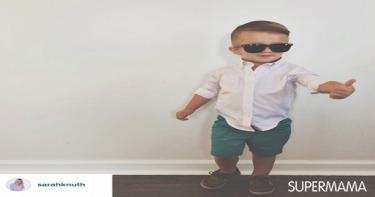 صور ملابس الأولاد في العيد ٨