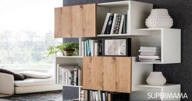 7 تصميمات للمكتبات في المنزل 6