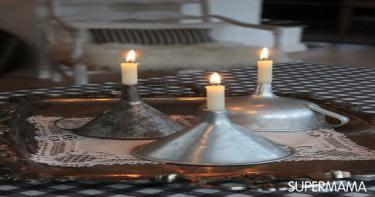 بالصور 5 حوامل شموع مبتكرة من أدوات مطبخ تقليدية 1