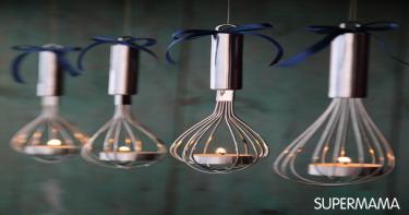 بالصور 5 حوامل شموع مبتكرة من أدوات مطبخ تقليدية 5