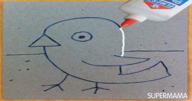 أفكار لتعليم الصغار القص والتلوين 2