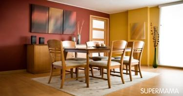 بالصور 7 ديكورات لغرفة الطعام 1