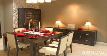 بالصور 7 ديكورات لغرفة الطعام 4