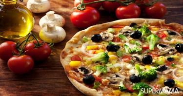 7 حشوات للبيتزا خضار