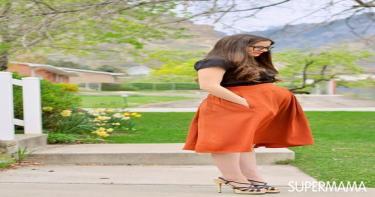 موضة الربيع للحامل 5