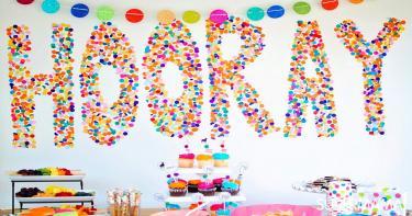 ديكور حفل عيد ميلاد طفلك في المنزل 1