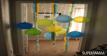 ديكور حفل عيد ميلاد طفلك في المنزل 6