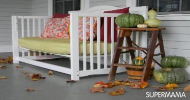 إعادة استخدام سرير طفلك الرضيع 5