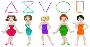 بالصور فستان حسب شكل الجسم