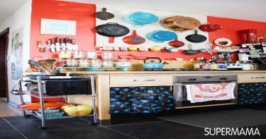 بالصور تخزين أدوات المطبخ