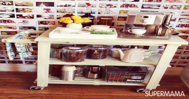 بالصور تخزين أدوات المطبخ 1