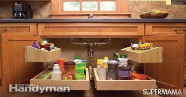 بالصور تخزين أدوات المطبخ 5
