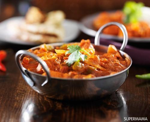 7 وصفات من المطبخ الهندي 7 دجاج بالكاري