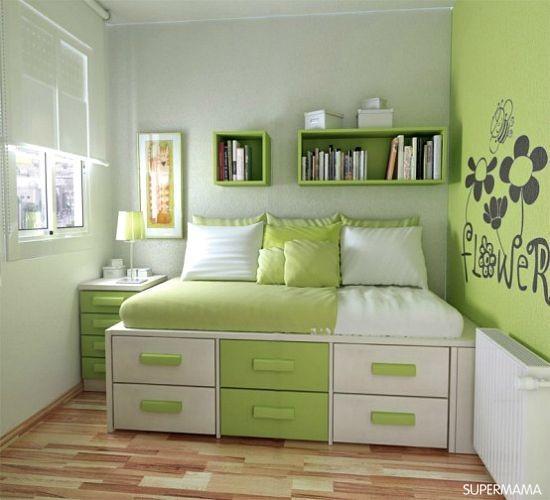 بالصور.. كيف تستغلين مساحات غرف النوم الصغيرة؟ | سوبر ماما