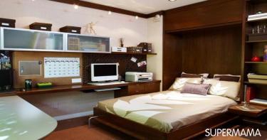 مساحات الغرف الصغيرة 2