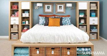 غرفة نوم صغيرة8